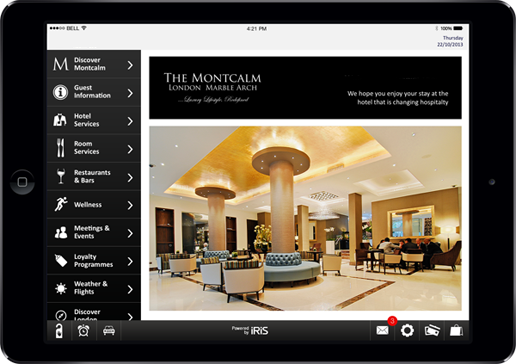 Complimentary use of iPad in all rooms The Montcalm London Marble Arch