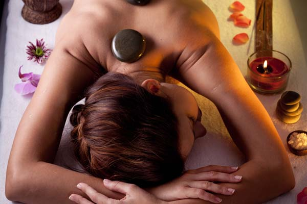 1 hr Hot Stone Massage  with Champagne Afternoon Tea Per Person £95.00 (was £131.00)